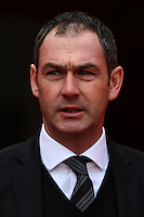 Swansea City manager Paul Clement prior to kick off of the Premier League match between Liverpool and Swansea City at Anfield, Liverpool, Merseyside, England, UK. Saturday 21 January 2017