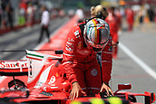 June 10th 2017, Circuit Gilles Villeneuve, Montreal Quebec, Canada; Formula One Grand Prix, Qualifying sessions; Sebastian Vettel - Scuderia Ferrari SF70H takes 2nd for tomorrows race