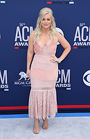 07 April 2019 - Las Vegas, NV - Jessie Jo Dillon. 54th Annual ACM Awards Arrivals at MGM Grand Garden Arena. Photo Credit: MJT/AdMedia<br /> CAP/ADM/MJT<br /> &copy; MJT/ADM/Capital Pictures