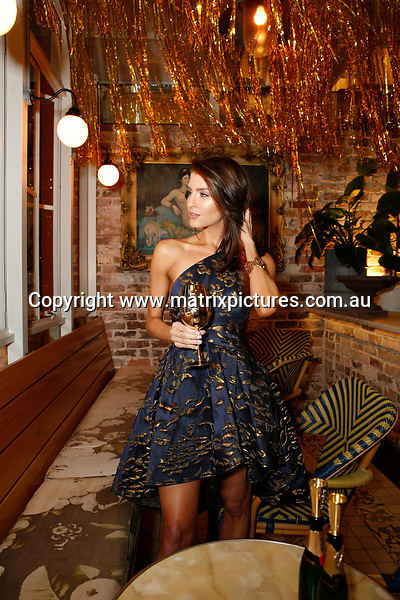 17 JUNE 2017 SYDNEY AUSTRALIA<br /> WWW.MATRIXPICTURES.COM.AU<br /> <br /> NON EXCLUSIVE PICTURES<br /> <br /> Erin Holland pictured. <br /> <br /> Mo&euml;t &amp; Chandon Mo&euml;t Party Day Gold Party at Coogee Bay Pavilion guest arrivals including Jesinta Franklin, Natalie Roser, Harley Bonner, Erin Holland, Tanja Gacic, Amy Pejkovic and Adam Tomlinson<br /> <br /> Note: All editorial images subject to the following: For editorial use only. Additional clearance required for commercial, wireless, internet or promotional use.Images may not be altered or modified. Matrix makes no representations or warranties regarding names, trademarks or logos appearing in the images.