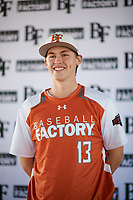 Colton Bowman (13) of Bullard High School in Bullard, Texas during the Baseball Factory All-America Pre-Season Tournament, powered by Under Armour, on January 12, 2018 at Sloan Park Complex in Mesa, Arizona.  (Zachary Lucy/Four Seam Images)