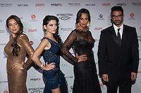 NEW YORK, NY - NOVEMBER 19: Holy Remedy at the 40th International Emmy Awards in New York. November 19, 2012. © Diego Corredor/MediaPunch Inc. /NortePhoto