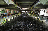St Peter's Seminary - Cardross near Dumbarton - the central area of the main building - Picture by Donald MacLeod - 5.08.11 - 07702 319 738 - www.donald-macleod.com