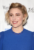 01 February 2018 - Beverly Hills, California - Greta Gerwig. 2018 Writers Guild &quot;Beyond Words&quot;. <br /> CAP/ADM/FS<br /> &copy;FS/ADM/Capital Pictures