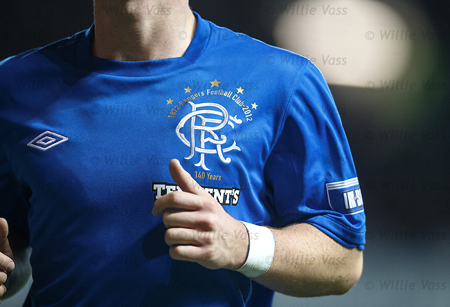 Rangers commemorative badge