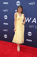 HOLLYWOOD, CA - JUNE 6: Paula Galindo, at The American Film Institute's 47th Life Achievement Award Gala Tribute To Denzel Washington at the Dolby Theatre in Hollywood, California on June 6, 2019.    <br /> CAP/MPI/SAD<br /> ©SAD/MPI/Capital Pictures
