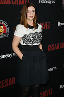 "HOLLYWOOD, LOS ANGELES, CA, USA - MARCH 20: Amber Tamblyn at the Los Angeles Premiere Of Pantelion Films And Participant Media's ""Cesar Chavez"" held at TCL Chinese Theatre on March 20, 2014 in Hollywood, Los Angeles, California, United States. (Photo by Celebrity Monitor)"