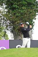 Gareth Maybin (NIR) tees off on the 14th tee during Day 1 Thursday of The Irish Open presented by Discover Ireland at Killarney Golf & Fishing Club on 28th July 2011 (Photo Jenny Matthews/www.golffile.ie)