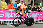Dylan Van Baarle (NED) in action during the Men Elite Individual Time Trial of the UCI World Championships 2019 running 54km from Northallerton to Harrogate, England. 25th September 2019.<br /> Picture: Seamus Yore | Cyclefile<br /> <br /> All photos usage must carry mandatory copyright credit (© Cyclefile | Seamus Yore)