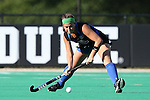 26 September 2014: Duke's Sarah Furey. The Duke University Blue Devils hosted the University of California Bears at Jack Katz Stadium in Durham, North Carolina in a 2014 NCAA Division I Field Hockey match. Duke won the game 2-0.