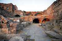 Ruins near Roman Baths, 2nd century AD, Bosra, Syria Picture by Manuel Cohen