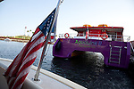 Aqualink summer water taxi in Long Beach, CA