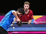 Curtis Caron competes in mens table tennis at the 2019 ParaPan American Games in Lima, Peru-22aug2019