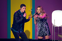 www.acepixs.com<br /> <br /> December 13 2017, Berlin<br /> <br /> Benedikt Koestler (L) and Rita Ora performing during the 'The Voice of Germany' finals at Studio Berlin Adlershof on December 17, 2017 in Berlin, Germany. <br /> <br /> By Line: Famous/ACE Pictures<br /> <br /> <br /> ACE Pictures Inc<br /> Tel: 6467670430<br /> Email: info@acepixs.com<br /> www.acepixs.com