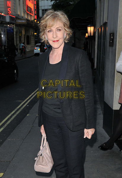 Patricia Hodge attends the Downton Abbey Wrap Party, The Ivy Club, West Street, London, England, UK, on Saturday 15 August 2015. <br /> CAP/CAN<br /> &copy;Can Nguyen/Capital Pictures