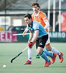 WASSENAAR - Hoofdklasse hockey heren, HGC-Bloemendaal (0-5).  Olivier van Tongeren (HGC)  COPYRIGHT KOEN SUYK