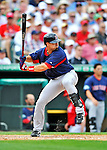 8 March 2012: Boston Red Sox outfielder Jason Repko in action during a Spring Training game against the St. Louis Cardinals at Roger Dean Stadium in Jupiter, Florida. The Cardinals defeated the Red Sox 9-3 in Grapefruit League action. Mandatory Credit: Ed Wolfstein Photo1