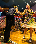Couple dancing at Sydney Rock n Roll Alternative Market at Sydney University, NSW, Australia
