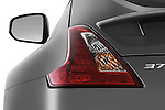 Tail light close up detail view of a 2009 Nissan 370 Z Touring Coupe