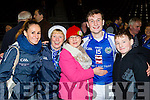 Stephen O'Sullivan celebrates with l-r: Jane Ryan, Kitty Doyle, Carol, Stephen and Michael O'Sullivan  Templenoe  after defeating  Coolmeen in the Munster Junior Championship final in Mallow on Sunday
