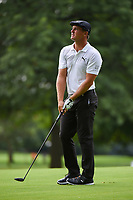 Bryson DeChambeau (USA) hits his second shot on 7 during Rd3 of the 2019 BMW Championship, Medinah Golf Club, Chicago, Illinois, USA. 8/17/2019.<br /> Picture Ken Murray / Golffile.ie<br /> <br /> All photo usage must carry mandatory copyright credit (© Golffile   Ken Murray)