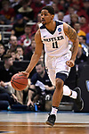 MILWAUKEE, WI - MARCH 18: Butler Bulldogs guard Kethan Savage (11) dribbles up the court during the second half of the 2017 NCAA Men's Basketball Tournament held at BMO Harris Bradley Center on March 18, 2017 in Milwaukee, Wisconsin. (Photo by Jamie Schwaberow/NCAA Photos via Getty Images)