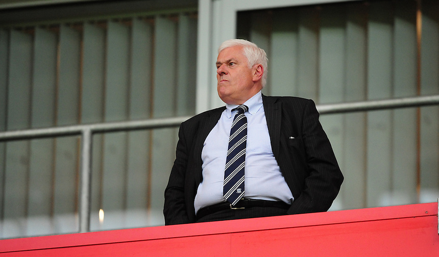 Peter Ridsdale, advisor to Preston North End owner Trevor Hemmings<br /> <br /> Photographer Chris Vaughan/CameraSport<br /> <br /> Football - The Football League Sky Bet Championship - Rotherham United v Preston North End - Tuesday 18th August 2015 - New York Stadium - Rotherham<br /> <br /> &copy; CameraSport - 43 Linden Ave. Countesthorpe. Leicester. England. LE8 5PG - Tel: +44 (0) 116 277 4147 - admin@camerasport.com - www.camerasport.com