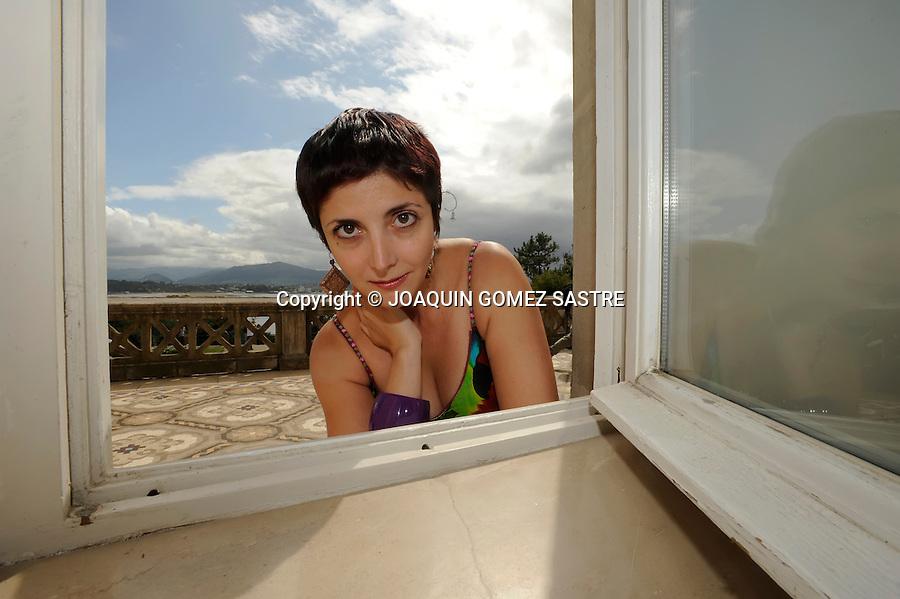 """SANTANDER.La escritora Espido Freire interviene en  el ciclo """"Los Martes Literarios"""" de la UIMP.foto © JOAQUIN GOMEZ SASTRE"""