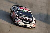 May 31, 2008; Dover, DE, USA; Nascar Nationwide Series driver Denny Hamlin during the Heluva Good 200 at the Dover International Speedway. Mandatory Credit: Mark J. Rebilas-US PRESSWIRE