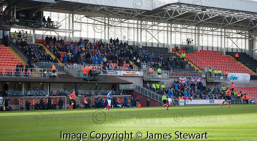 The 340 Rangers fans who watched the game.