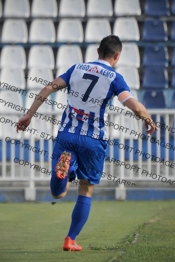 Fudbal Jelen Super League season 2016-2017<br /> Novi Pazar v Javor<br /> Strelac Enver Alivodic proslavlja pogodak<br /> Novi Pazar, 26. 11. 2016<br /> foto: Emir Sadovic/Starsportphoto &copy;