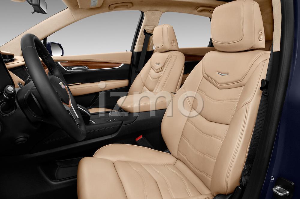 Front seat view of 2018 Cadillac XT5 AWD-Platinum 5 Door SUV Front Seat  car photos