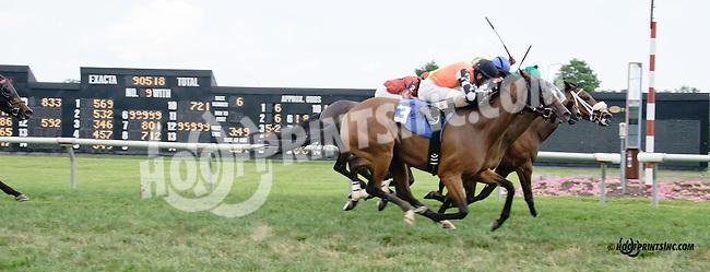 Samiam winning at Delaware Park on 7/21/14