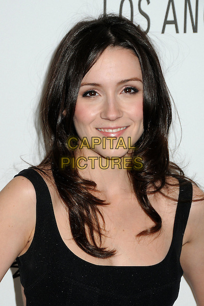 "SHANNON WOODWARD.28th Annual Paley Center for Media's Paley Fest 2011 Presents ""Raising Hope"" held at The Saban Theatre, Beverly Hills, California, USA..March 17th, 2011.headshot portrait black  .CAP/ADM/BP.©Byron Purvis/AdMedia/Capital Pictures."