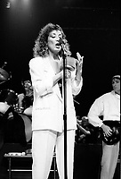 Montreal (QC) CANADA - 1984 File Photo  - - Beau Dommage concert at the Montreal Forum, October 26 1984<br /> <br /> Photo by Denis Alix, copyright 1984