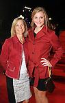 Nancy and Kristin Olansen on the red carpet at Fashion Houston at the Wortham Theater Wednesday Nov.13,2013.  (Dave Rossman photo)