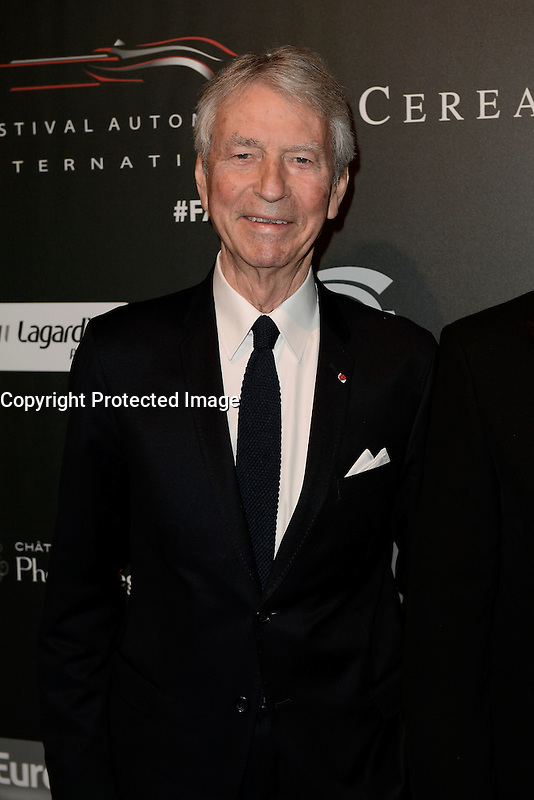 Jean-Claude NARCY - Soiree des grands prix du Festival Automobile International - 31 janvier 2017 - Paris - FRANCE