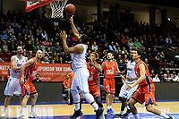 GRONINGEN -  Basketbal, Donar - New Heroes Den Bosch, Martiniplaza, Dutch Basketbal League, seizoen 2018-2019,  26-01-2019, score van Donar speler Lance Jeter