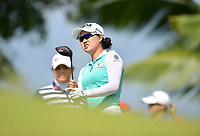 SINGAPORE - FEBRUARY 01: Minjee Lee of Australia on the 2nd tee during the second round of the HSBC Women's World Championship 2019 at Sentosa Golf Club - Tanjong Course, Singapore on March 01, 2019.<br /> .<br /> .<br /> .<br /> (Photo by: Naratip Golf Srisupab/SEALs Sports Images)<br /> .<br /> Any image use must include a mandatory credit line adjacent to the content which should read: Naratip Golf Srisupab/SEALs Sports Images