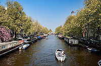 The canals in Amsterdam (Holland, 17/04/2011)
