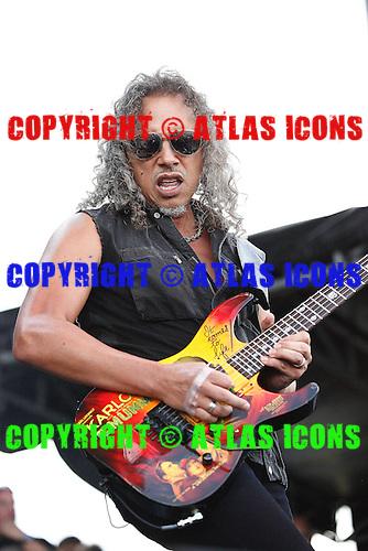 Metallica as dehaan at Orion Festival, live, 2013 ,Ken Settle/atlasicons.com