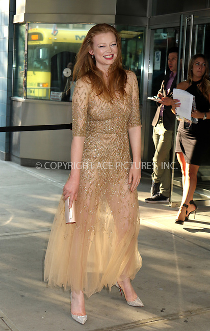 www.acepixs.com<br /> <br /> August 9, 2017 New York City<br /> <br /> Sarah Snook arriving at the premiere of 'The Glass Castle' on August 9, 2017 in New York City.<br /> <br /> By Line: Philip Vaughan/ACE Pictures<br /> <br /> <br /> ACE Pictures Inc<br /> Tel: 6467670430<br /> Email: info@acepixs.com<br /> www.acepixs.com