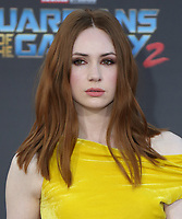 """19 April 2017 - Hollywood, California - Karen Gillan. Premiere Of Disney And Marvel's """"Guardians Of The Galaxy Vol. 2"""" held at Dolby Theatre. Photo Credit: PMA/AdMedia"""