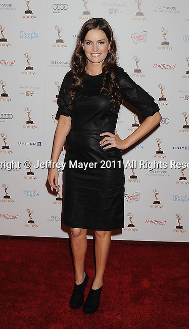 WEST HOLLYWOOD, CA - SEPTEMBER 16: Jamie Anne Allman attends the 63rd Annual Emmy Awards Performers Nominee Reception held at the Pacific Design Center on September 16, 2011 in West Hollywood, California.