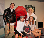 "Guiding Light's Mandy Bruno and Robert Bogue with sons Zeb (15) & Flynn (6) and daughter Zoe (13) as Mandy and Rob star in Lilttle Shop of Horrors The Musical on May 27, 2018 presented by CaPAA at the Ritz Theater in Scranton, PA. Mandy is ""Audrey"", Robert is ""Orian, Berstein, Luce, Snip, Martin"" and Kelly is ""Seymour"". Mandy is  also the director, set designer, video projection production, props and costumes.  (Photo by Sue Coflin/Max Photo)"