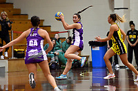 Beko Netball League - Central v Northern Comets at Walter Nash Centre, Lower Hutt, New Zealand on Sunday 24 June 2018.<br /> Photo by Masanori Udagawa. <br /> www.photowellington.photoshelter.com