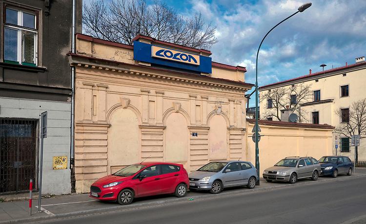 Budynek klubu społeczności LGBT przy ulicy Gazowej 21 na krakowskim Kazimierzu.
