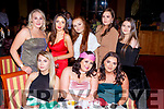 Fexco staff enjoying their Christmas party in the Plaza Hotel on Saturday night front row l-r: Chloe West, Michaela O'Brien, Laura Sheahan. Back row: Shannon O'Neill, Clodagh Fitzgerald, Chelsea Flynn, Shauna Barton and Niamh Fenton