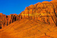 Red rock formations, Snow Canyon State Park near St. George, Utah USA.