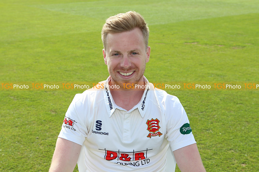 Adam Wheater of Essex in Specsavers County Championship kit during the Essex CCC Press Day at The Cloudfm County Ground on 5th April 2017
